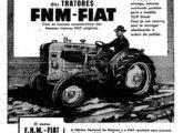 Propaganda de fevereiro de 1956 anunciando o trator FNM-Fiat 25/R (fonte: Jorge A. Ferreira Jr.).
