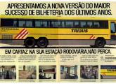 Propaganda de 1989 apresentando o Tribus III.