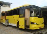 Protótipo do que poderia ter sido o Superbus V, com mecânica Scania (foto: Gilberto Martins).