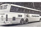 Os primeiros chassis Tribus receberam carroceria Ciferal Dinossauro (fonte: Transporte Moderno).