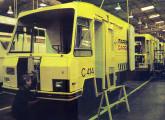 Linha de montagem do furgão Clip nas oficinas de Cachoeiro de Itapemirim (fonte: Transporte Moderno).