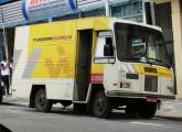 Furgão Clip fotografado em 2007, em plena atividade de entregas urbanas, trazendo a nova programação visual adotada pela Itapemirim Cargas (foto: Fernando Nishimura de Aragão).
