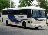 Superbus II sobre chassi Scania K112 alocado à frota do Expresso Paraibano, de João Pessoa (PB) (foto: Antônio Eustaquio / onibusbrasil).