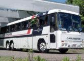 Rara foi a utilização de ônibus Tribus por grandes empresas não pertencentes ao Grupo Itapemirim; na imagem um Tribus III da Catarinense, de Blumenau (SC) (foto: Alessandro Teixeira / egonbus).