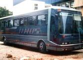 Rara imagem do MR-1320, apresentado em 1989, única incursão da Mafersa no segmento rodoviário (fonte: João Filho Guimarães).