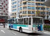 Trólebus Mafersa operando em Santos (SP) em 2006 (fonte: site lembrancaseanotacoes).