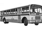 Monobloco urbano UDPA com motor dianteiro, lançado em 1964.