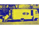 Furgão para entregas urbanas da transportadora Translor, projetado e construído pela Massari em 1966.