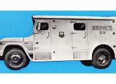 A Massari fabricou 20 destes carros-fortes para a Brink's.
