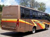 Como diversos pequenos fabricantes brasileiros de carrocerias, a Italbus tem o Chile como importante cliente; na foto, um ônibus de 2014 sobre chassi Mercedes-Benz (foto: Alvaro Gonzalez).