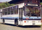 Em 1984 a Santa Matilde tentou conquistar parcela do mercado de transporte urbano com este ônibus com motor Chevrolet.