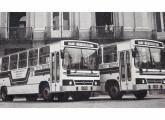 Carrocerias convencionais para chassis Mercedes-Benz LPO fornecidas pela Santa Matilde, em 1985, para a CTC do Rio de Janeiro.