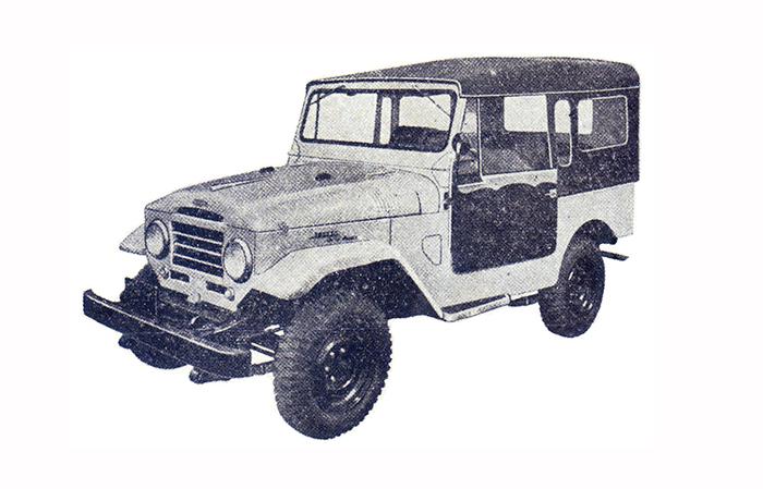 Toyota lexicar brasil primeiro toyota construdo no brasil o jipe fj25l tinha motor a gasolina japons e baixo ndice de nacionalizao fandeluxe Image collections