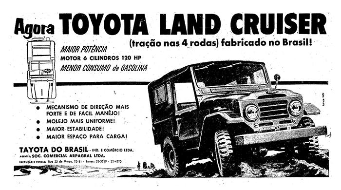 Toyota lexicar brasil propaganda de 1959 anunciando o primeiro toyota nacional fonte jorge a ferreira jr fandeluxe Image collections