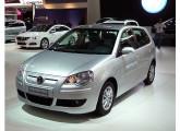O VW ecológico Polo Bluemotion, exposto no XXVI Salão (foto: LEXICAR).