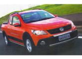 Saveiro Cross, mais um dos muitos lançamentos VW do final da primeira década do século.