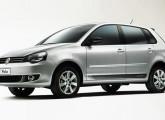 Polo com o novo visual mundial da Volkswagen, introduzido em 2011.