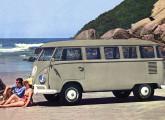 Kombi standard 1964; as novas lanternas dianteiras foram introduzidas para aquele ano-modelo.