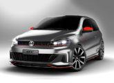 O belo Gol GT conceitual, surpresa Volkswagen no Salão de 2016.