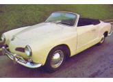 Karmann-Ghia conversível, primeiro lançamento de 1968.