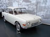 EA97, de 1960, o protótipo da Volkswagen alemã que deu origem ao nosso 1600; o carro encontra-se exposto no museu do Grupo, em Wolfsburg (foto: LEXICAR).