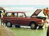 Variant 1970, com a frente de faróis duplos introduzida naquele ano.