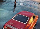 Karmann-Ghia TC; a propaganda é de 1972.