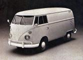 Kombi furgão 1973: quinze anos depois de lançados, os utilitários Volkswagen permaneciam imutáveis.