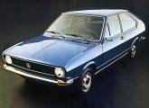 O moderníssimo Passat, lançado em junho de 1974: depois da Volkswagen alemã, novos rumos também para a filial brasileira.