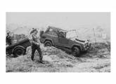 Protótipo do jipe Volkswagen sendo testada pelo Exército (fonte: Expedito Carlos Stephani Bastos).