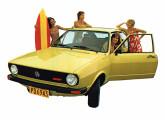 Passat Surf, um modelo quase espartano visando o público jovem.