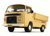 Picape diesel, uma das duas versões Kombi lançadas em 1981.