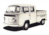 Kombi cabine-dupla a gasolina, também novidade de 1981.
