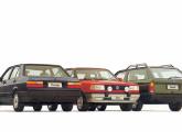 A família BX – Voyage, Gol GTS e Parati – reestilizada em 1991.