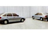 Logus e Pointer, modelados em argila no Studio Ghia, na Itália (fonte: Oficina Mecânica).