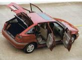 Pointer, o que de melhor produziu para a Volkswagen a união com a Ford (foto: Autoesporte).