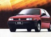 Gol 1000 Mi de 1998, com o novo motor de um litro Hi-Tork.