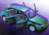 Gol de cinco portas, lançamento de janeiro de 1998.