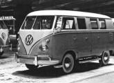 Kombi seis-portas quando do seu lançamento no I Salão do Automóvel.