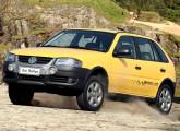 Gol Rallye, série especial de 2007, 2007 (na foto) e 2010.