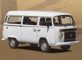 Com o abandono do motor refrigerado a ar, em 2005, a Kombi recuperou o radiador dianteiro da antiga versão diesel.